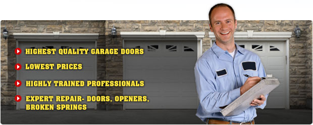 Prairie Village Garage Door Repair